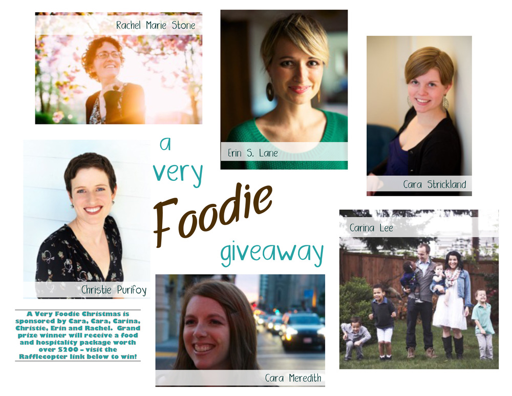 A Very Foodie Giveaway