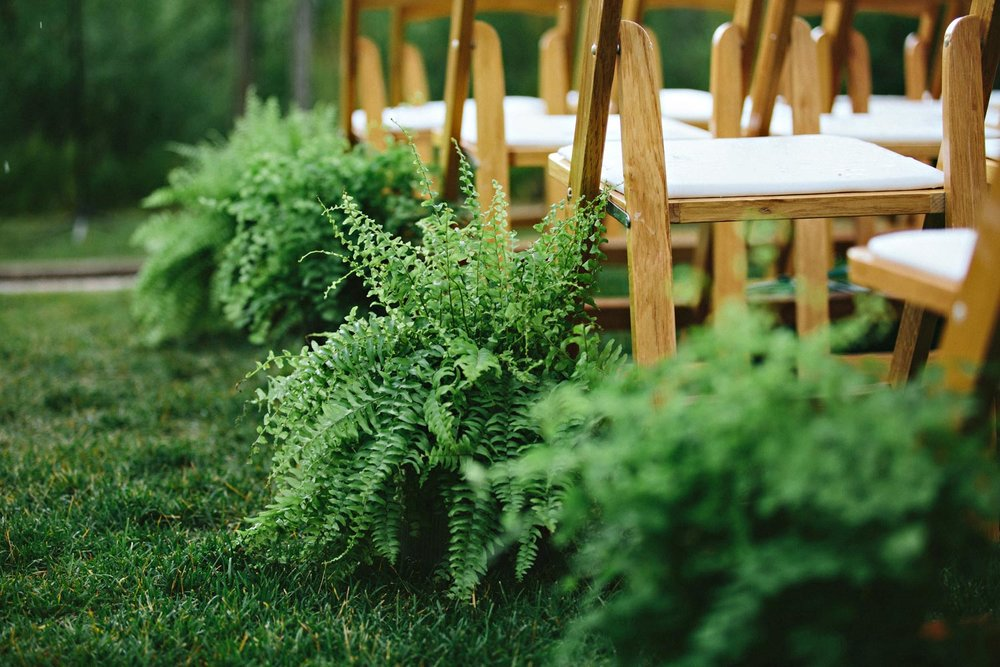 Outdoor mountain wedding planning