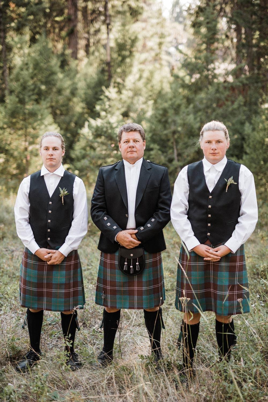Montana Outdoor Wedding