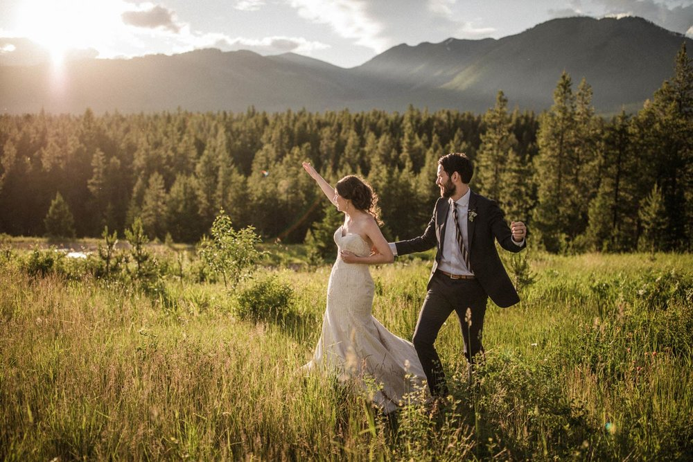 Montana Mountain Wedding