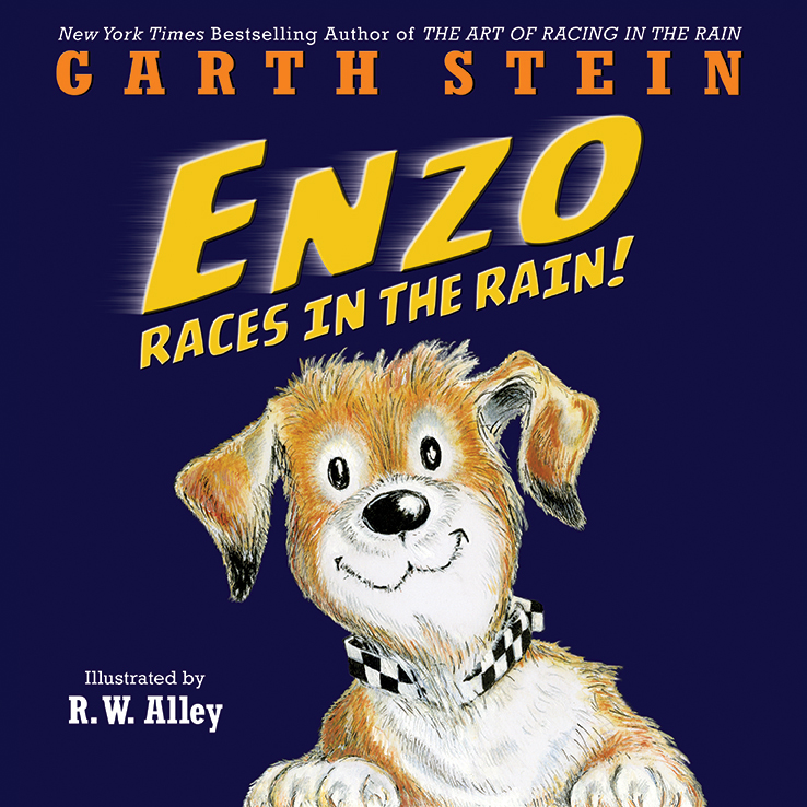 Enzo Races in the Rain!