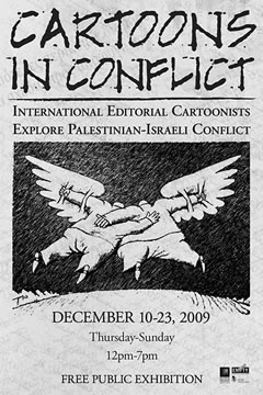 Cartoons in Conflict: International Editorial Cartoonists Explore Palestinian-Israeli Conflict