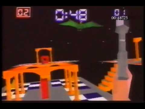 This was cutting edge VR technology in 1995.