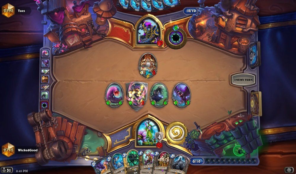 You can, in fact, beat Raza and Anduin on curve. Sometimes.