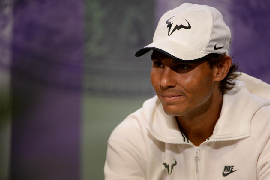 Rafael Nadal va avea o misiune mult mai grea decât restul favoriților pentrua accede în finală.
