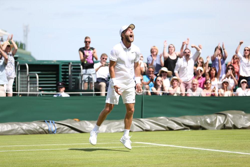 """""""A fost cel mai frumos sentiment din viața mea,"""" spune Liam Broady după victoria sa din primul tur."""