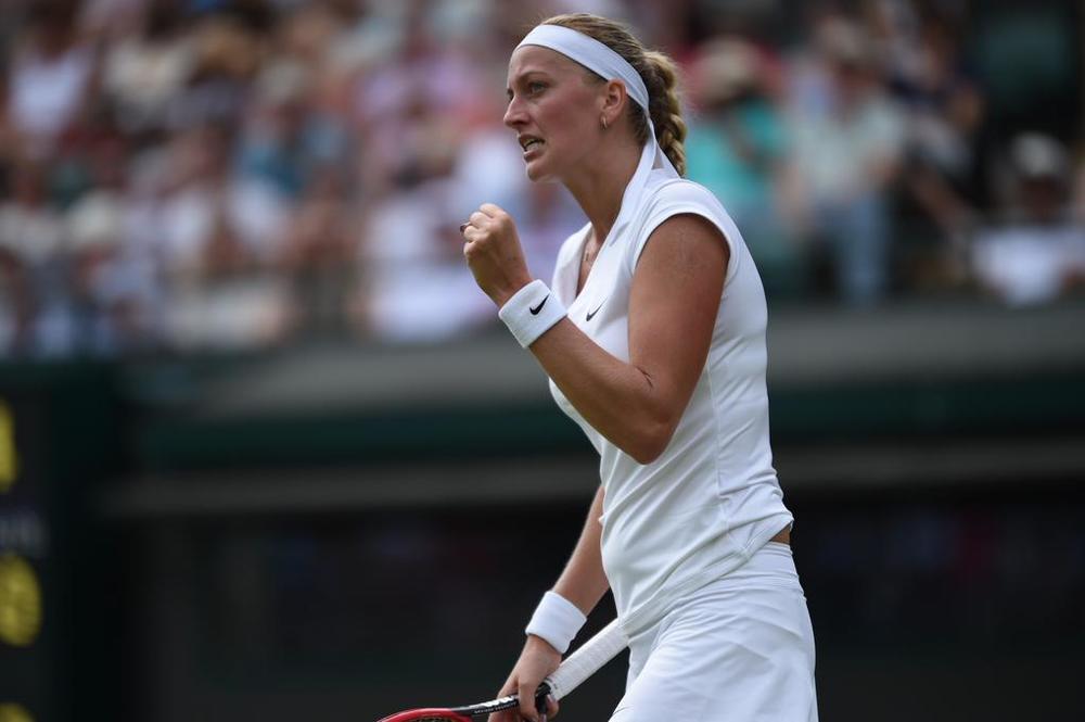 Petra Kvitova este campioana en-titre la Wimbledon, iar felul în care joacă o recomandă pentru o nouă finală.