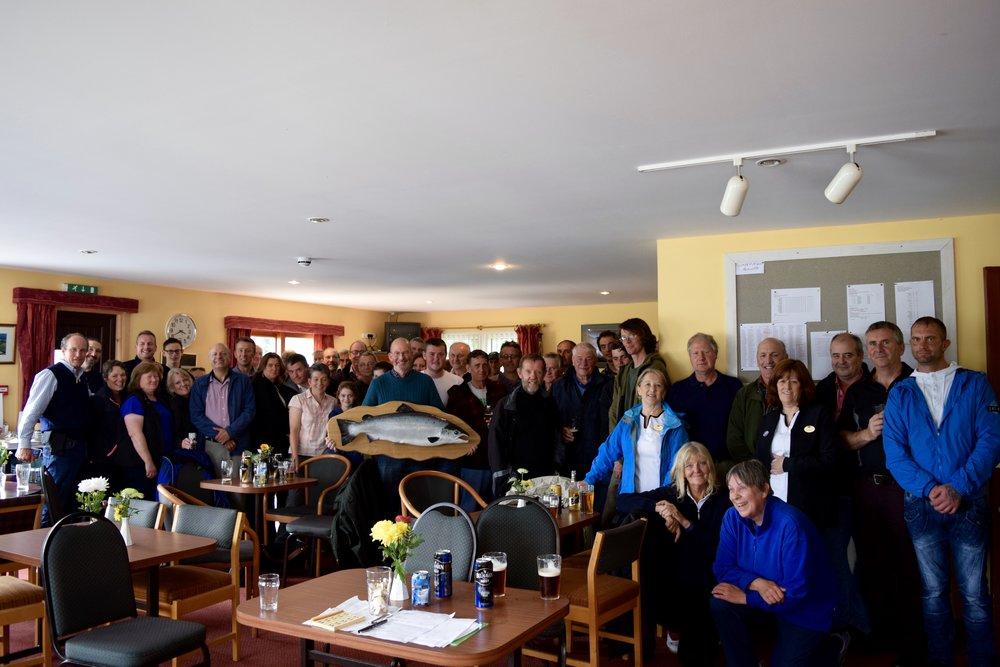 Hugh's retirement party, summer 2016, Ullapool Golf Club