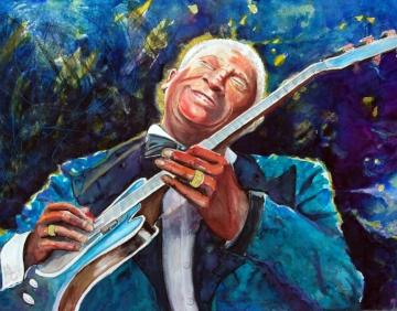 B B King of the Blues