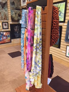 Handmade fashion scarves by Brandi Baros