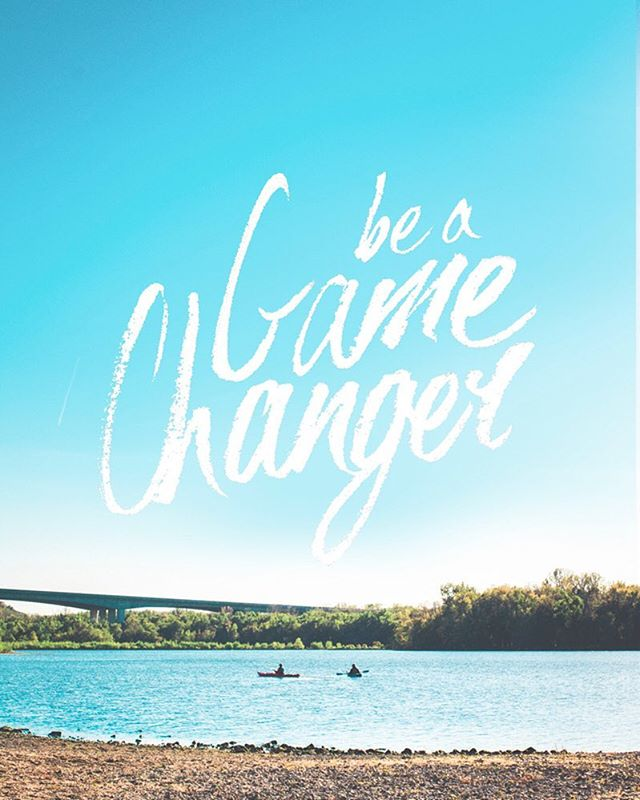 """""""If you want to be a game changer, leading the way and breaking boundaries in your industry, you have to be comfortable creating outside of your comfort zone."""" - @jencarrington_ .  Ahhh, comfort zones. Gotta love how they try to hold you back by making you feel so, well.... comfortable. Lately I've been breaking out of mine by: ✚ Writing a new Services page for my website (which I seriously can't wait to share with you!). I've been procrastinating on this for soooo long. It always felt like such an overwhelming process and I had no freaking clue on where to begin.... But then I realized you just have to start somewhere. Anywhere. I'm constantly having to remind the perfectionist in me that it doesn't have to be perfect. I can always continue to update it even after it's out there, but it needs to actually be OUT THERE in first place 😉 Done is better than perfect. ✚ Working on developing the discipline to consistently engage with others & share my work here on IG and FB. I used to be EXTREMELY shy/nervous when it came to this sort of thing, but it's been so much fun actually putting myself out there and meeting all kinds of new creatives!  How are you going to be a game changer this week? 👊"""