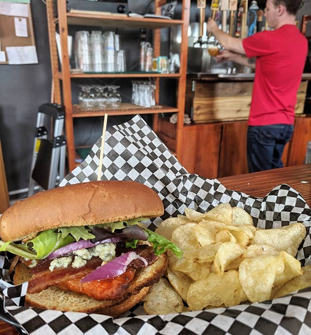 Today is National Lost Sock Day! That has nothing to do with this post but you should try the Buffalo Chicken Sandwich we have on special! #craftbeer #coloradobeer #colorado #brewery #foodie #greeley