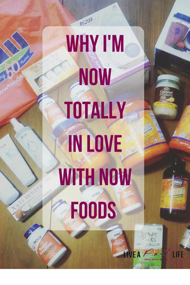 *This is a sponsored post for NOW Foods. However, all of the opinions expressed are my own.