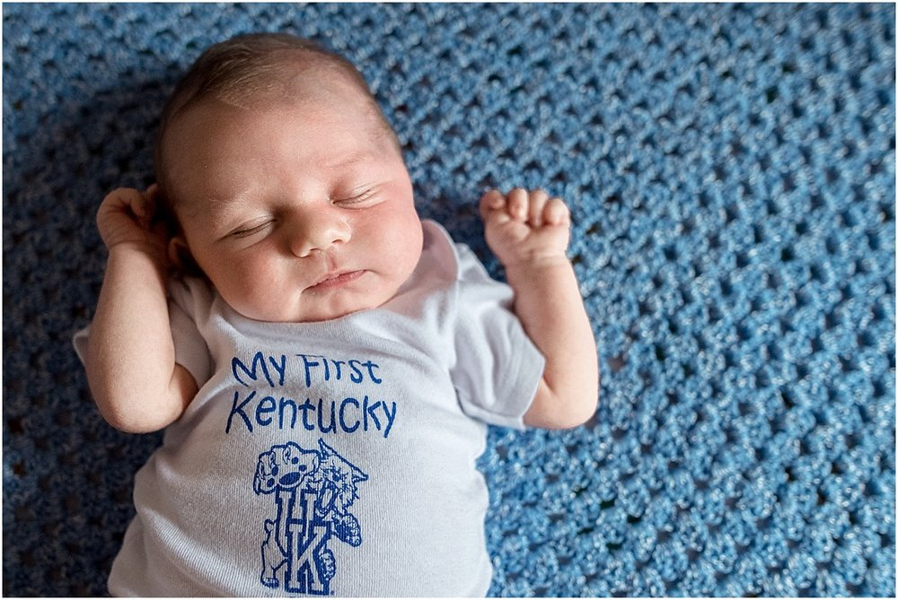 baby Kentucky fan  | Santa Ana, Costa Rica Lifestyle Photographer
