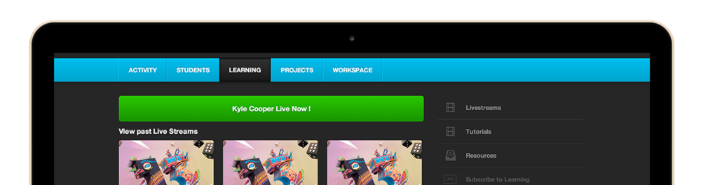 Behance feature design — Collaborative externship, SCAD &Adobe