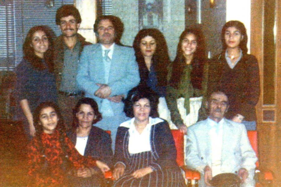 The Mahmudnizhad and Rohanian families, circa 1980/81