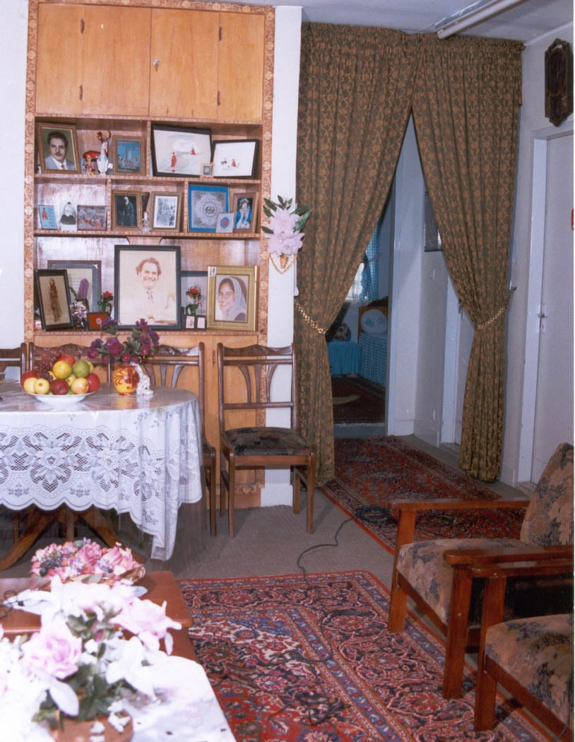 The Mahmudnizhad Apartment, Mona's room in back right