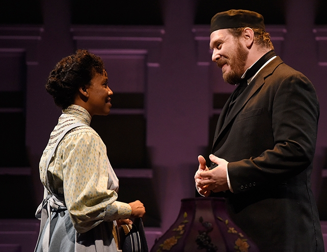 "Rasool Jahan and Benjamin Curns in ""Intimate Apparel"""