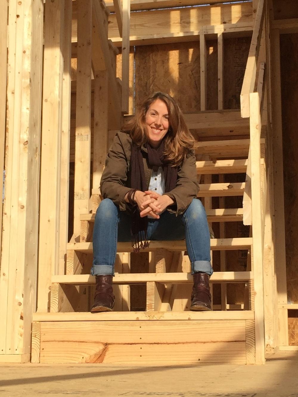 Jenny at building site.jpeg