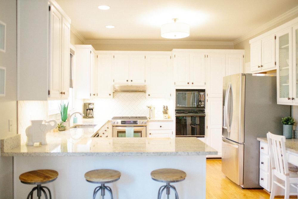 Suburban Renewal | Chapel Hill, NC | kitchen | design build | J. Hoffman Studio
