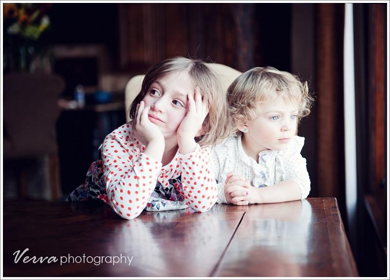 siblings portrait, natural light