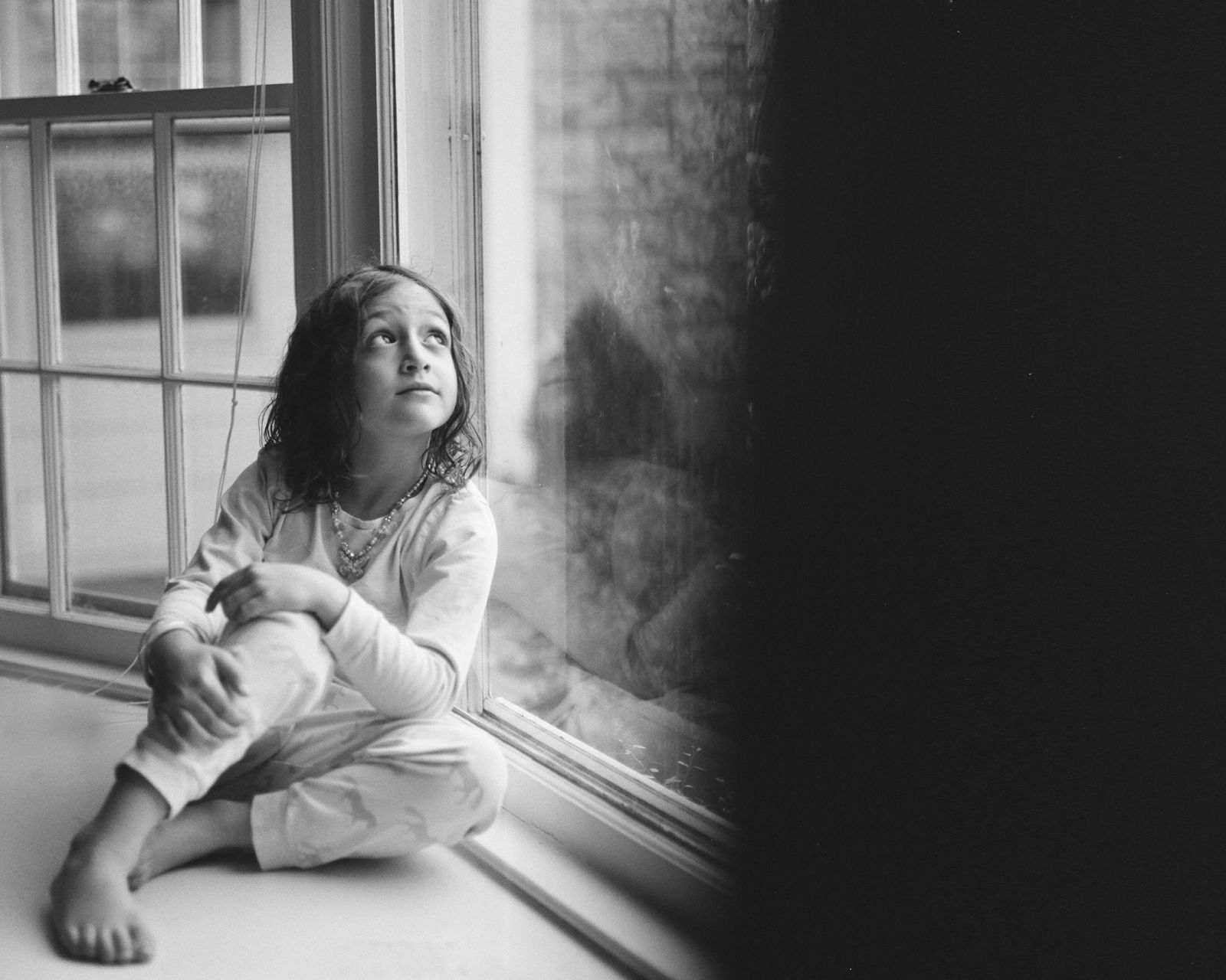 verva photography. b&w film portraits