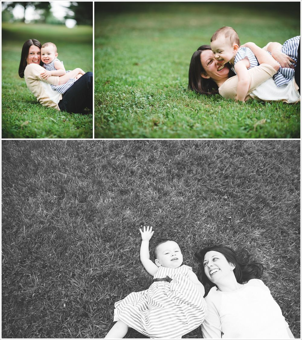 mother daughter portrait in a a park. nyc area