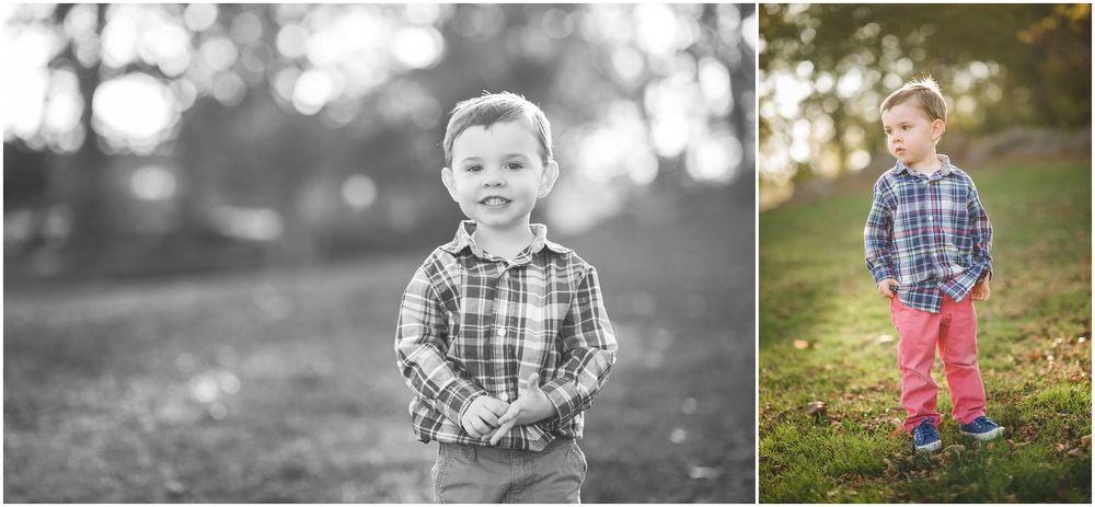 fun autumn portraits