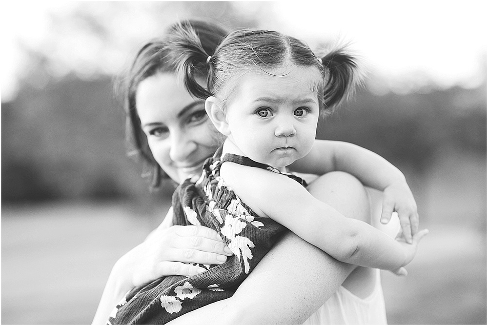 mother daughter portrait.  photographer erin borzellino