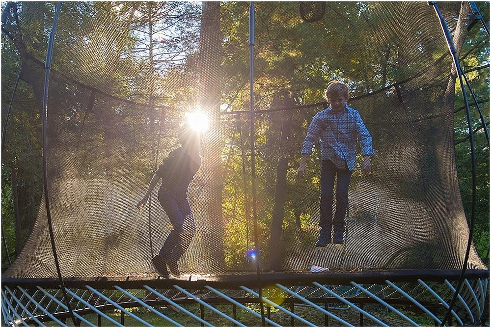 trampoline light.