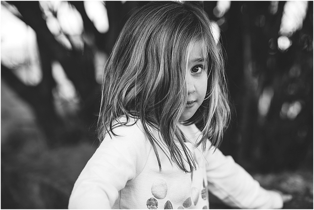 black and white children's portraits