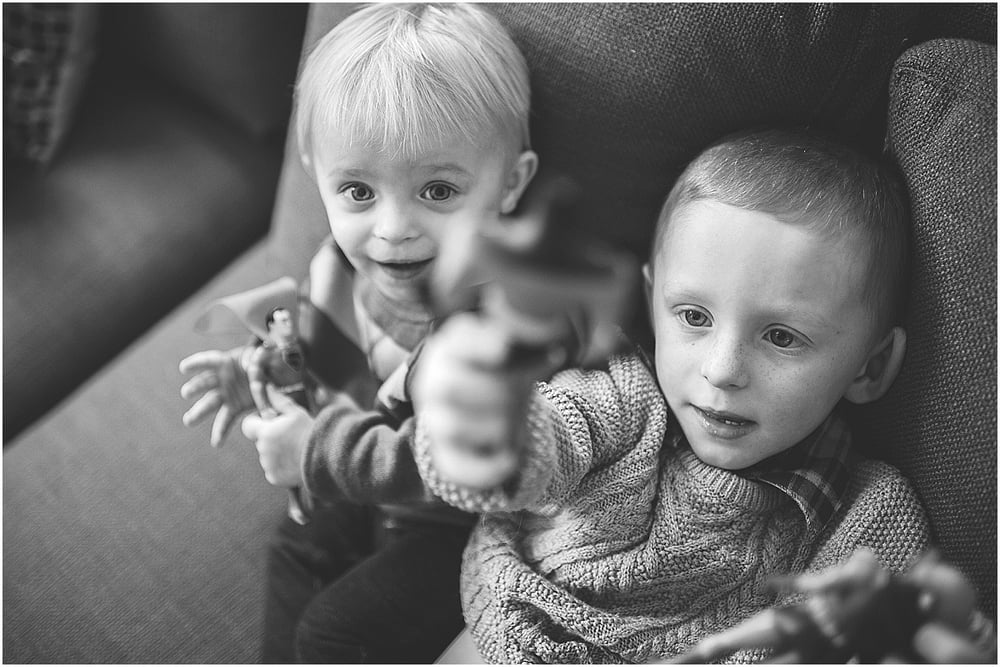 brothers. black and white lifestyle photography