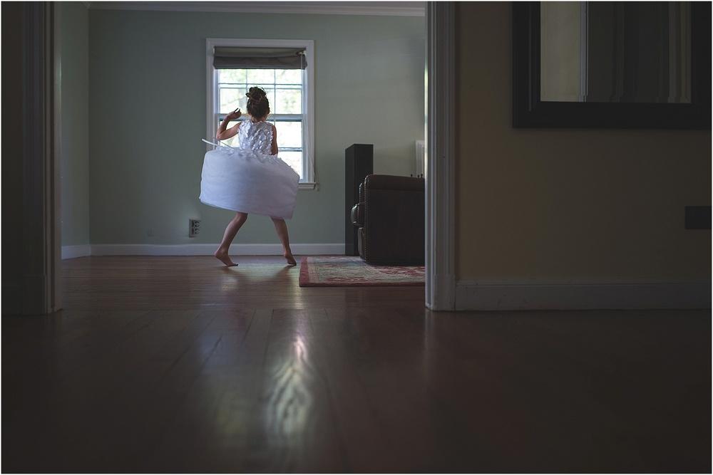 dancing in living room!