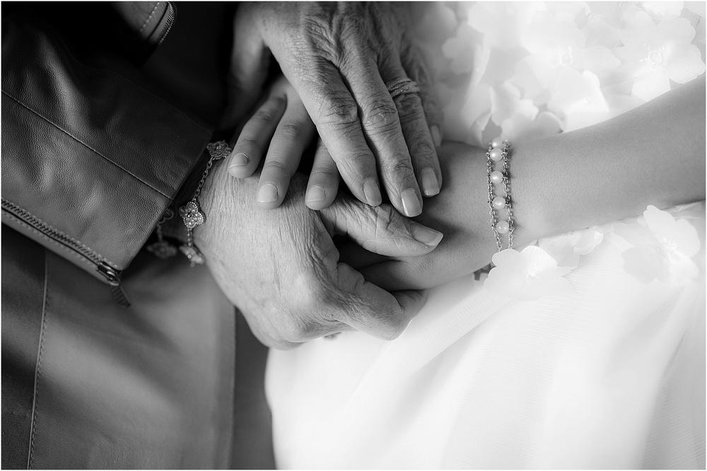 grandmother hands