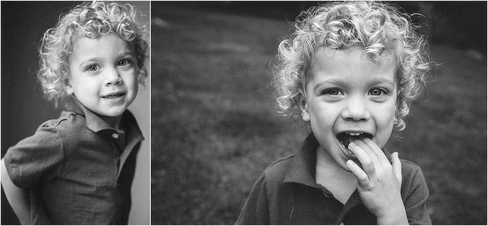 curly hair.  toddler boy portrait.