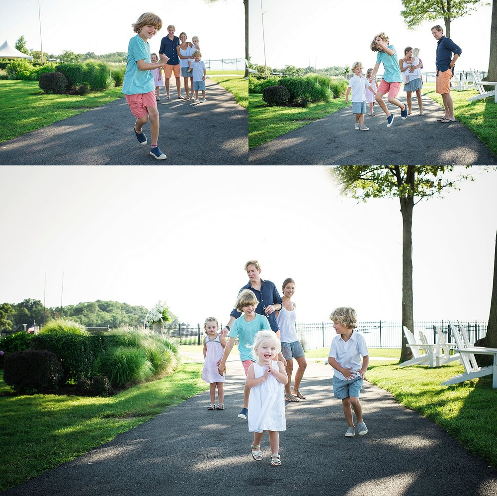 summer family portraits. larchmont, ny