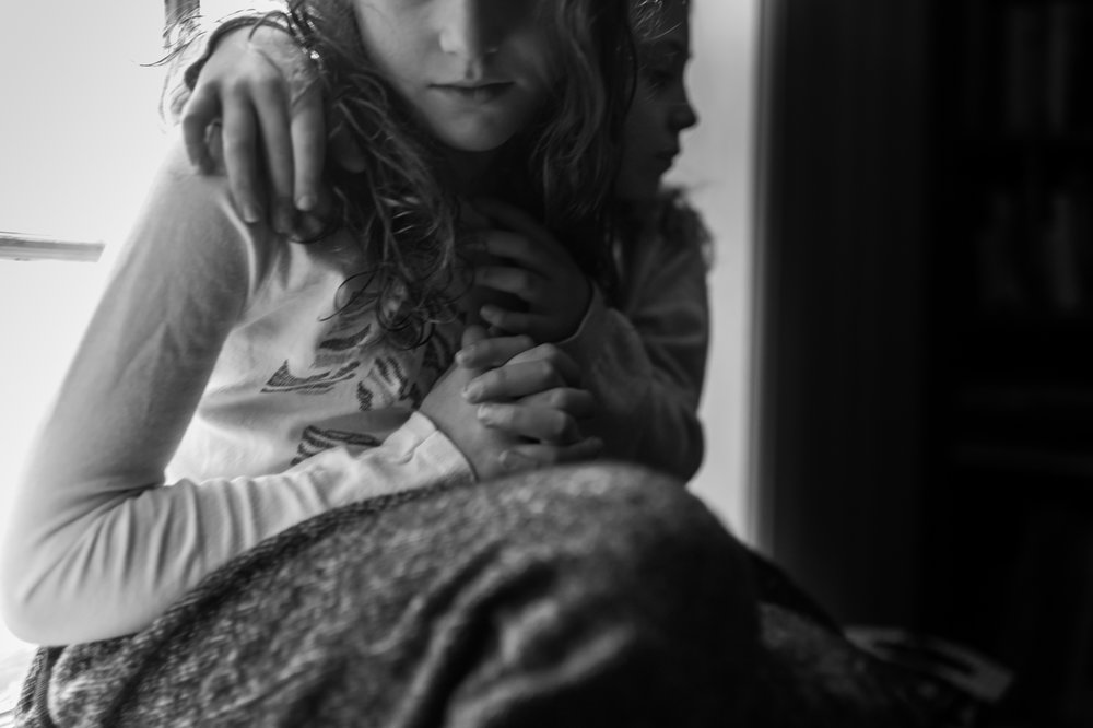portrait of sisters, erin borzellino, new york