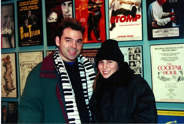 Brett and I just after moving to NYC (2000)