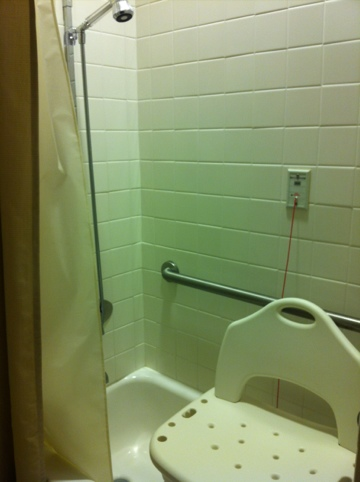 Shower drama