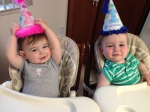 My ONE year olds!