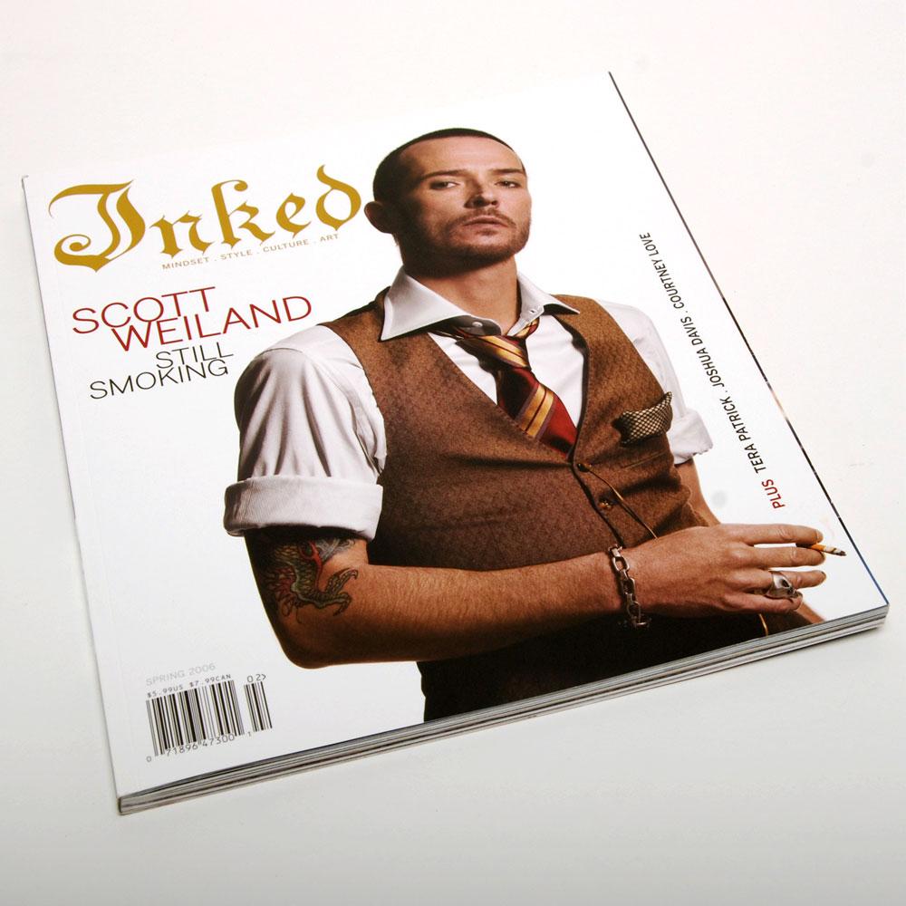 Inked Magazine Issue 2 - ART DIRECTION + DESIGN