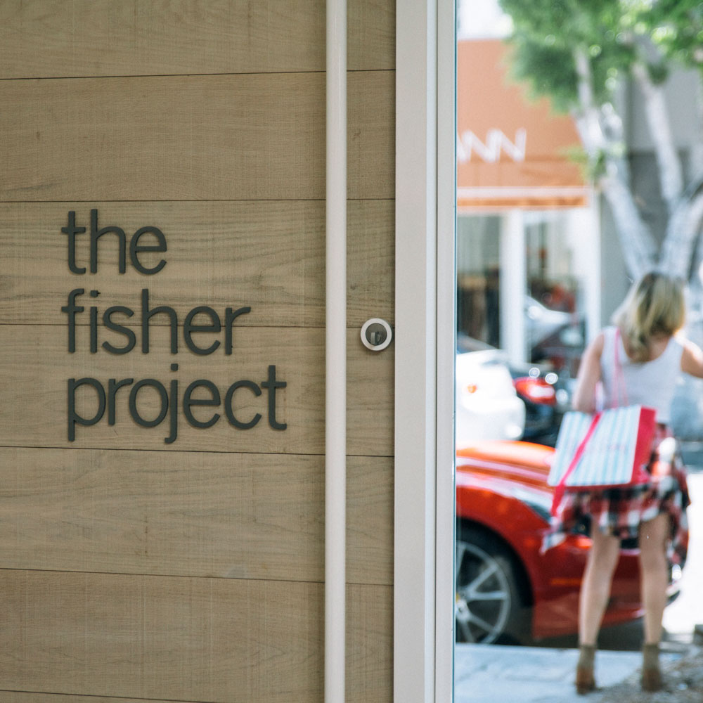 The Fisher Project - ART DIRECTION+ DESIGN