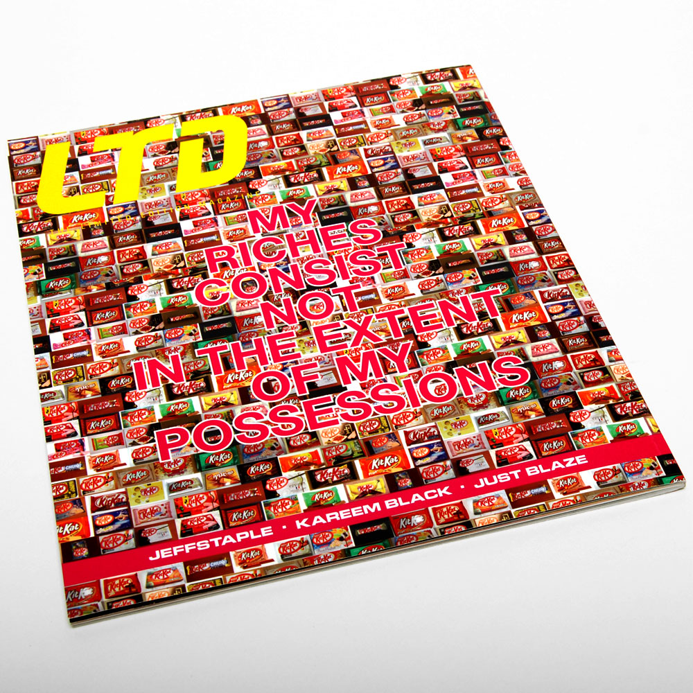 LTD Magazine Issue 4 - ART DIRECTION + DESIGN