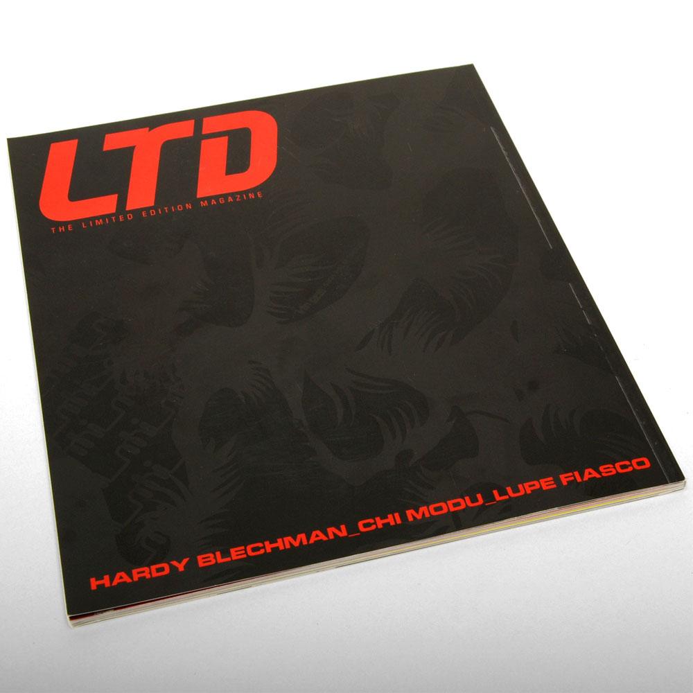 LTD Magazine Issue 3 - ART DIRECTION + DESIGN