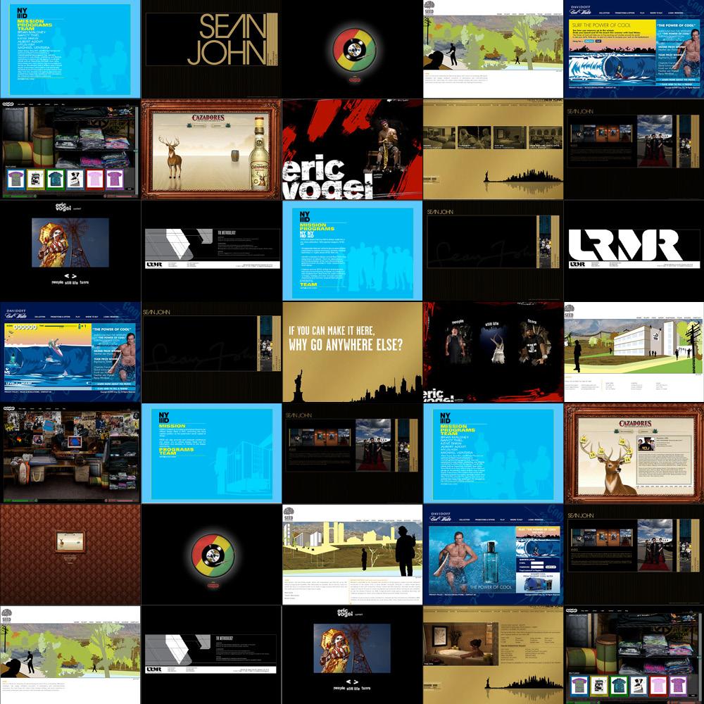 Various Digital - ART DIRECTION +DESIGN
