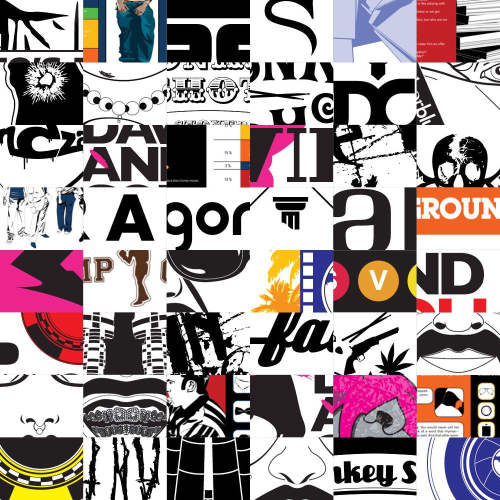 Logos & Illustrations - CREATIVE DIRECTION + DESIGN