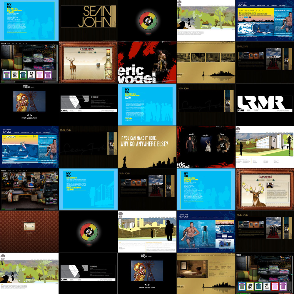 Various Digital - ART DIRECTION + DESIGN