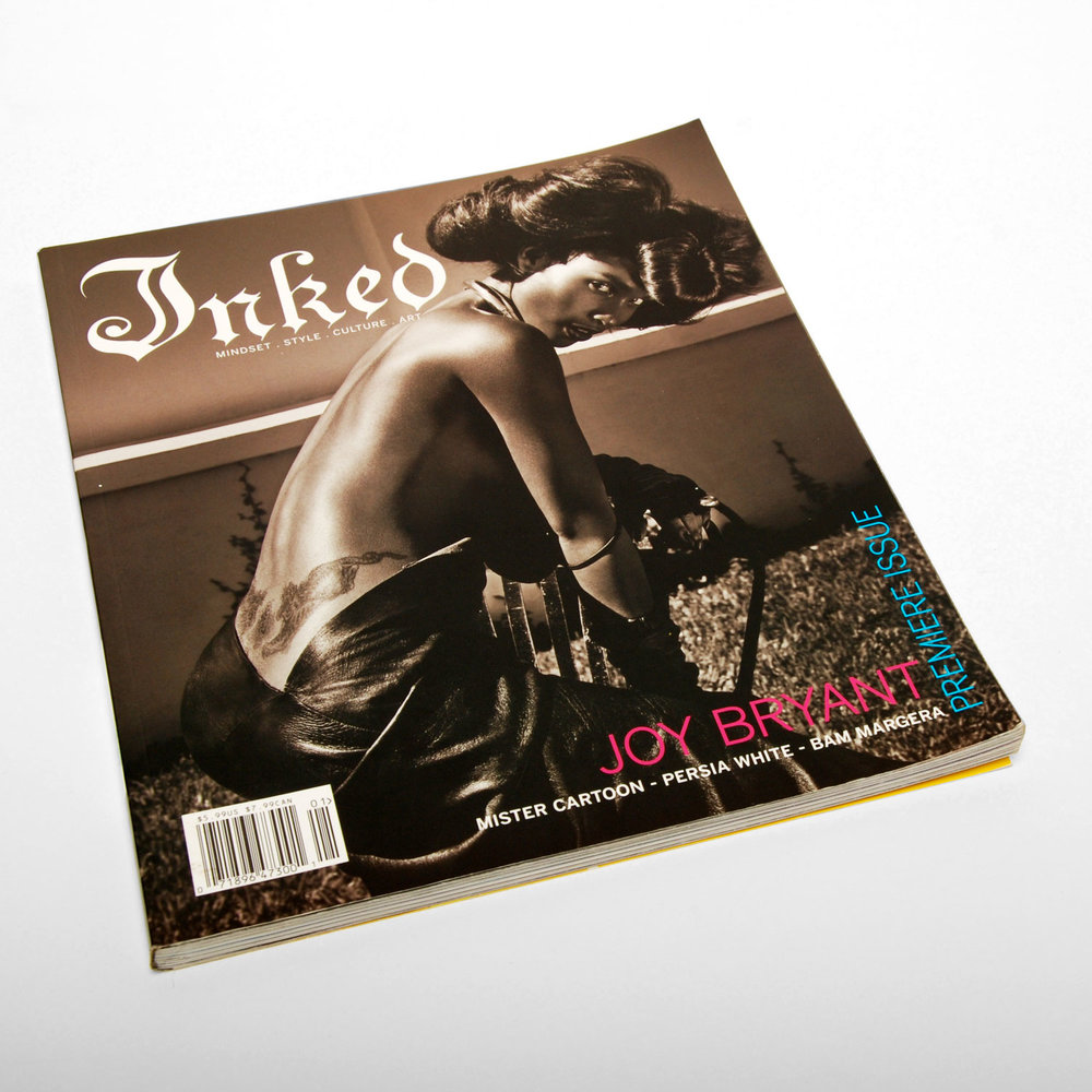 Inked Magazine Issue 1 - ART DIRECTION + DESIGN