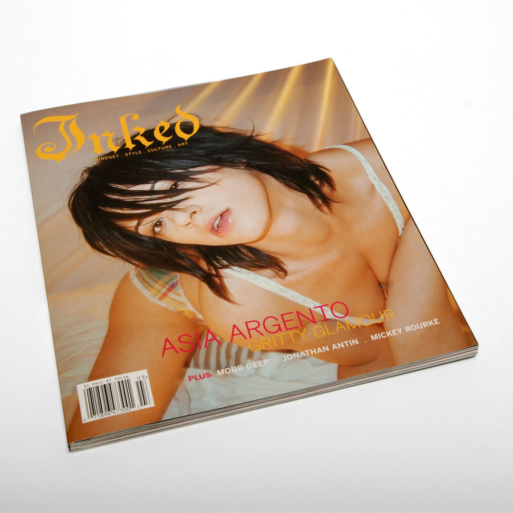 Inked Magazine Issue 3 - ART DIRECTION + DESIGN