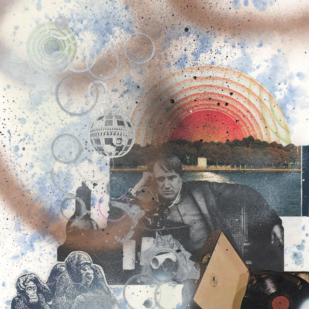 Dreams & Nightmares wk.4 - Collage/Mixed Media on Paper, 15